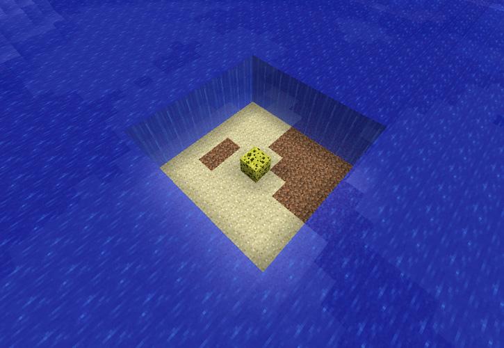 Как в minecraft сделать губку