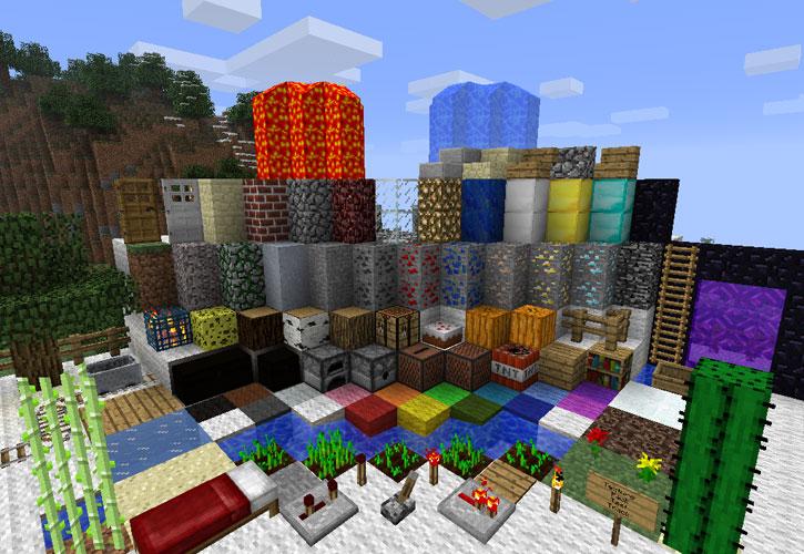 улучшенные текстуры для minecraft: