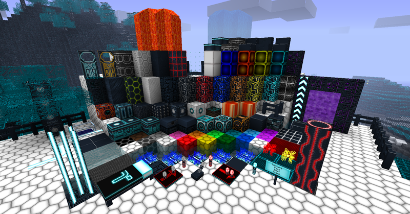 Ресурс пак Tron World v7.0 64x для Minecraft 1.1.0: mcdownloads.ru/load/3-1-0-199