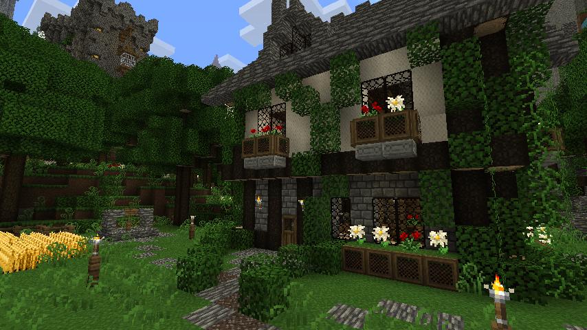 красивый текстур пак для minecraft: