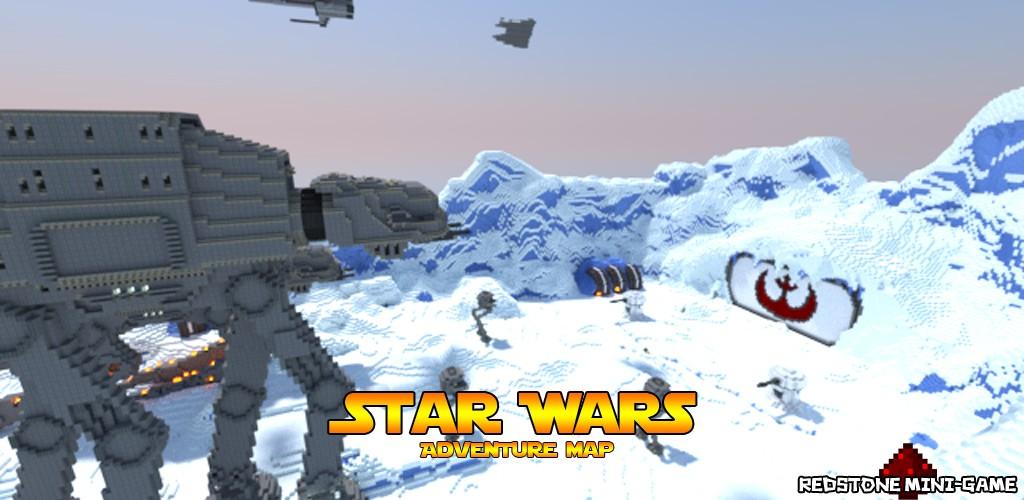 Карта на minecraft star wars
