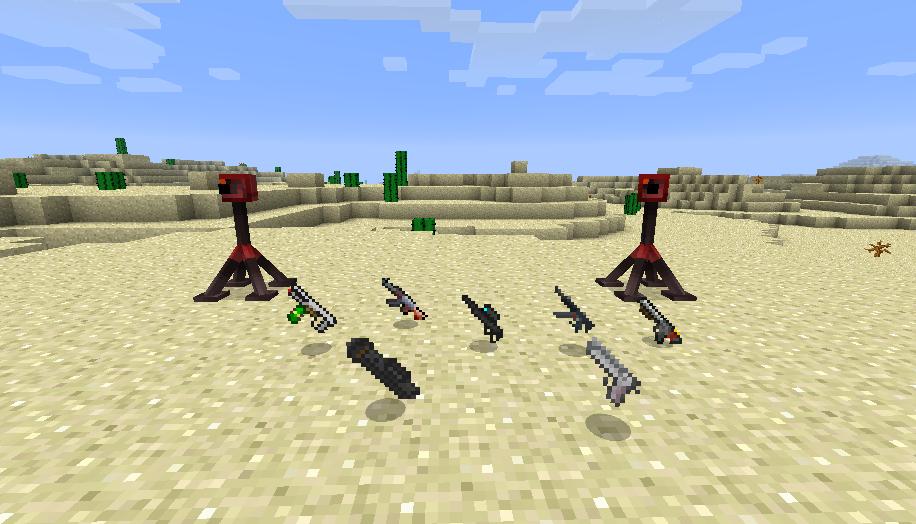 Скачать мод на оружие для Minecraft 152
