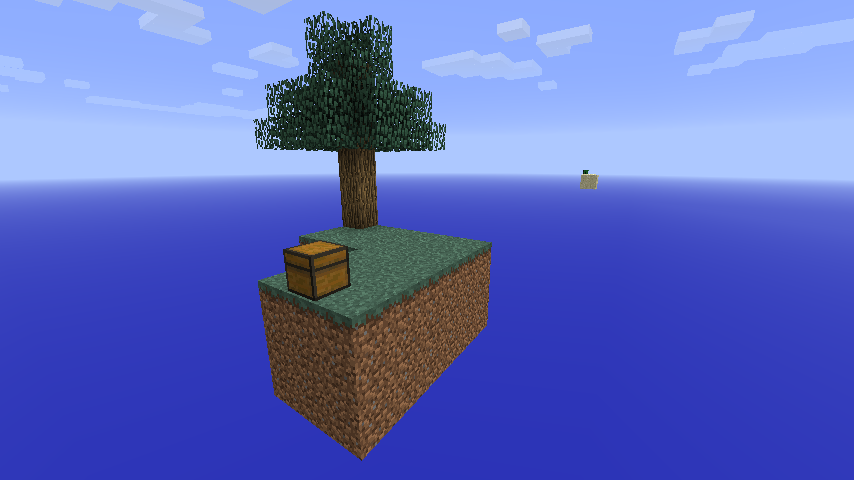 Minecraft Skyblock скачать 1.5.2