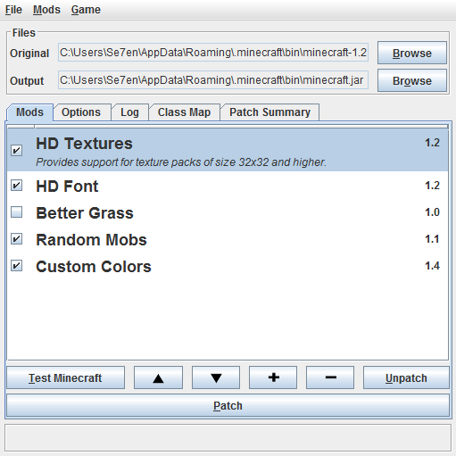 Программа для использования текстур