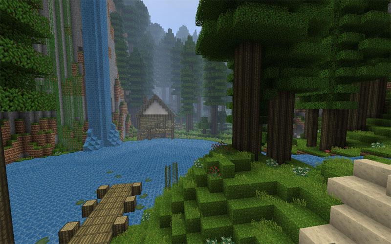 GeruDokuRPG 32x для Minecraft 1.2.2 | 1.2.3 (Скачать бесплатно и без регистрации)