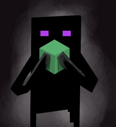 Enderman Don't Pickup Blocks для Minecraft 1.2.3 (Скачать бесплатно и без регистрации)