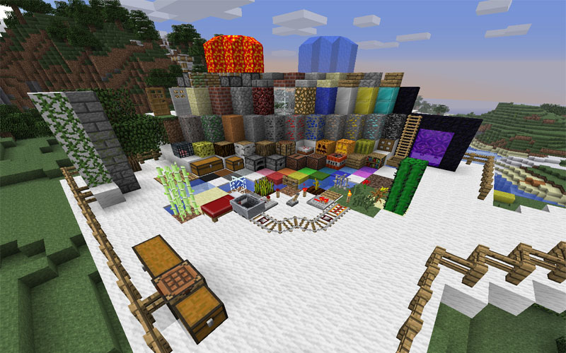 Defined 64x для Minecraft 1.2.3 (Скачать бесплатно и без регистрации)