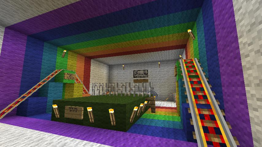 Как сделать подземную комнату в майнкрафт