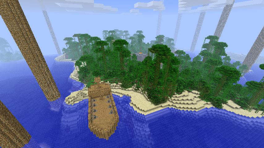 The lost city of maya для minecraft