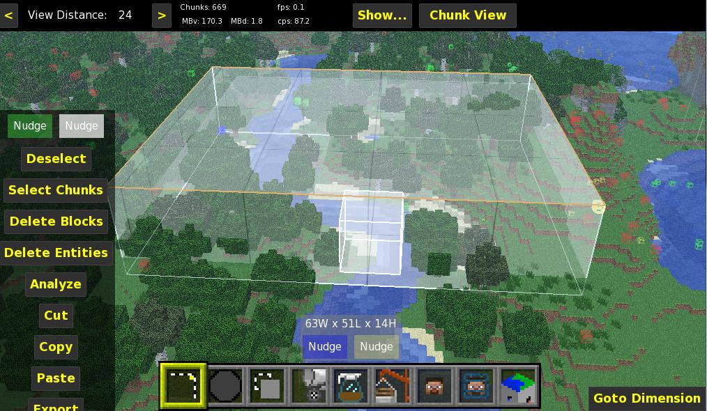 Редактирования карт в minecraft 1 3 1