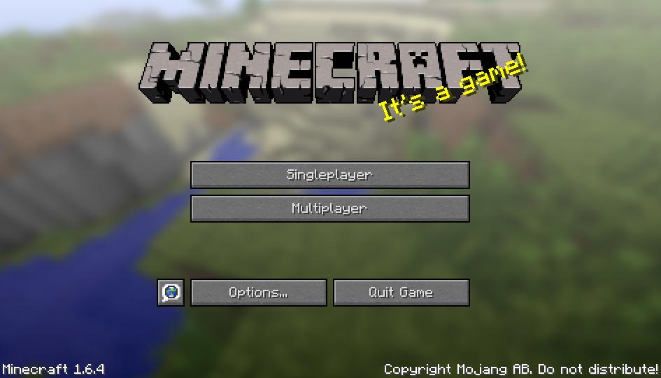 Скачать minecraft 1. 6. 4 пиратка бесплатно.