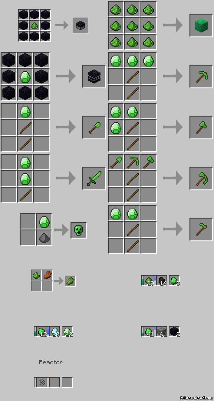 Uraniummod для minecraft 1 1 0
