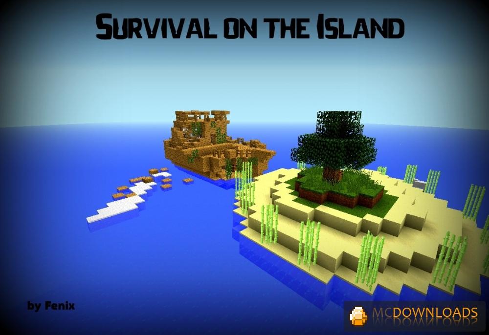 карты на майнкрафт 1.7.10 выживание на островах #2